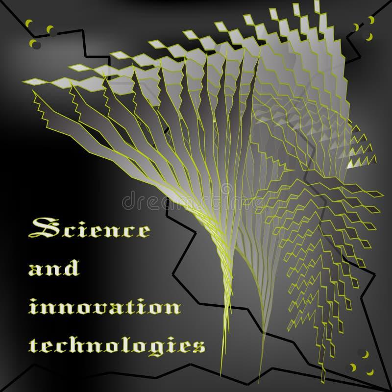 De innovativa teknologierna royaltyfri illustrationer