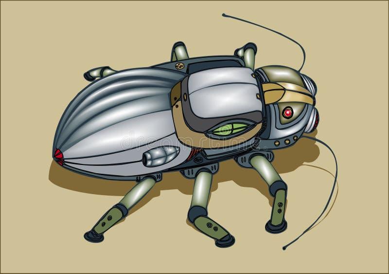 De insect-spion stock afbeelding