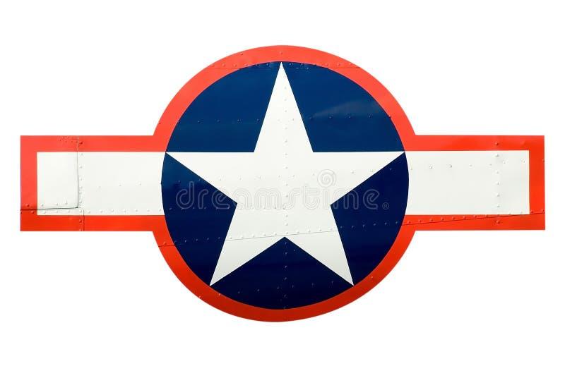 De Insignes van de Luchtmacht van de V.S. stock afbeeldingen
