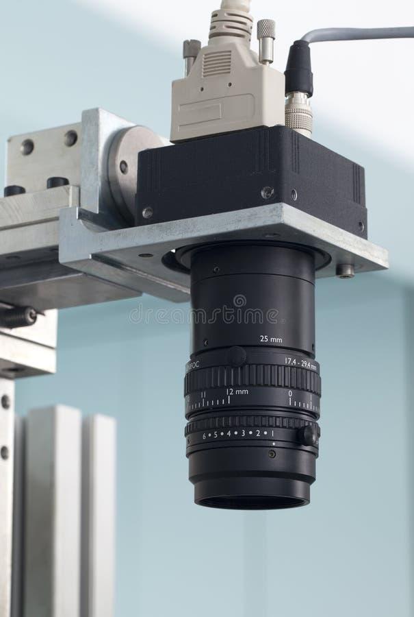 De inspectiecontrole van de camera stock foto's