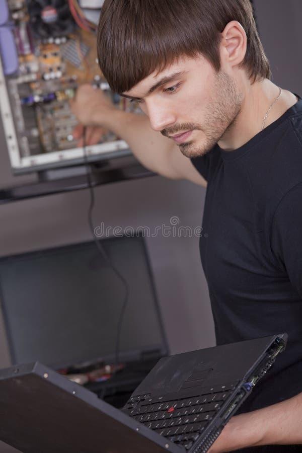 De installatie van de computer royalty-vrije stock afbeelding