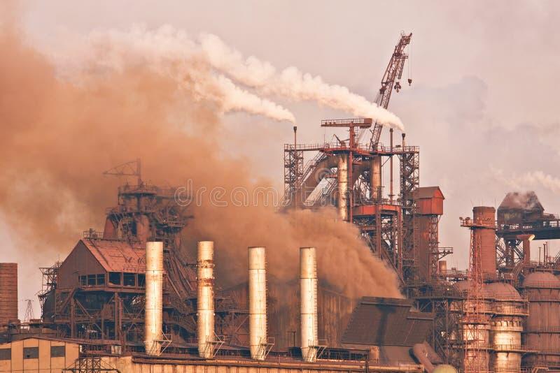 De installatie van de zware industrie