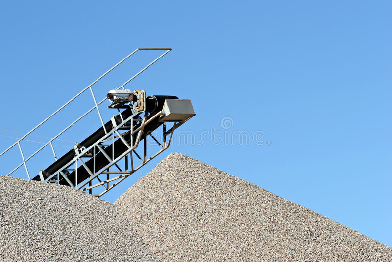 De installatie van het cement royalty-vrije stock afbeeldingen