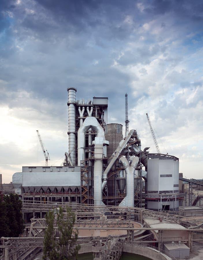 De installatie van het cement royalty-vrije stock afbeelding