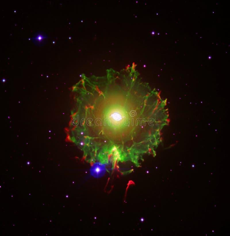 De interessante Nevel Verbeterde Elementen van het Heelalbeeld van NASA/ESO | Melkweg Achtergrondbehang royalty-vrije stock fotografie