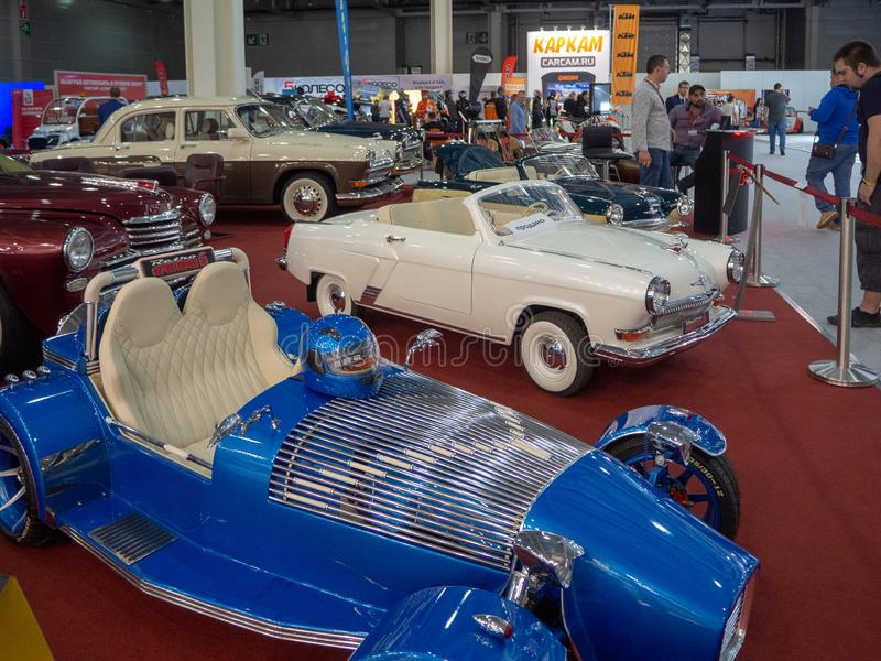 De Internationale Automobiele Salon MMAS 2018 van Moskou royalty-vrije stock foto's