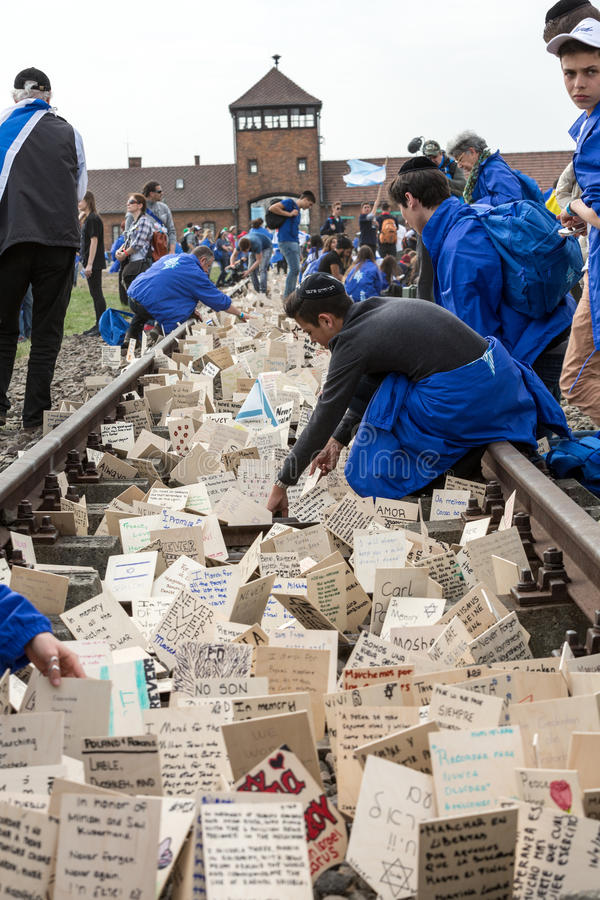 De internationale Dag van de Holocaustherinnering royalty-vrije stock foto