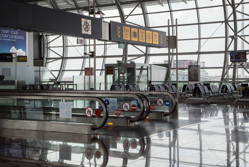 De internationale de Luchthavenbouw van Brussel royalty-vrije stock afbeelding