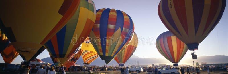 De internationale Fiesta van de Ballon, royalty-vrije stock foto's