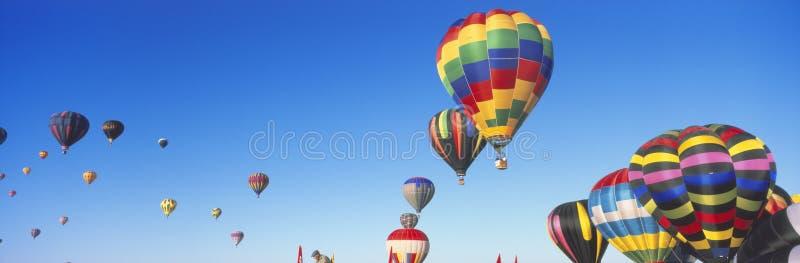De internationale Fiesta van de Ballon royalty-vrije stock afbeeldingen