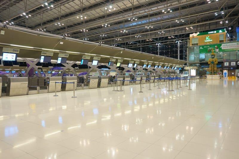 De Internationale Luchthaven van Bangkok royalty-vrije stock foto's