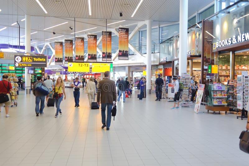 De Internationale Luchthaven van Barcelona royalty-vrije stock foto