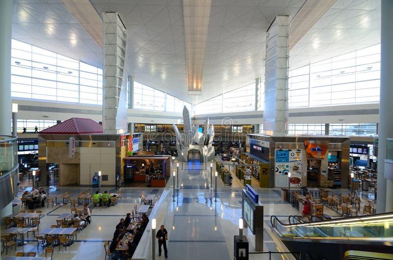 De Internationale Luchthaven van Dallas/van Fort Worth stock foto's