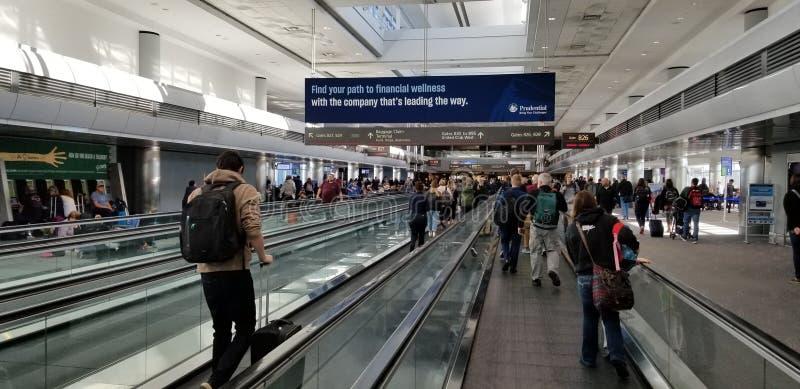 De Internationale Luchthaven van Denver stock fotografie