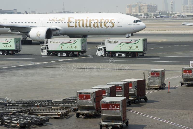 De internationale luchthaven van Doubai royalty-vrije stock afbeeldingen