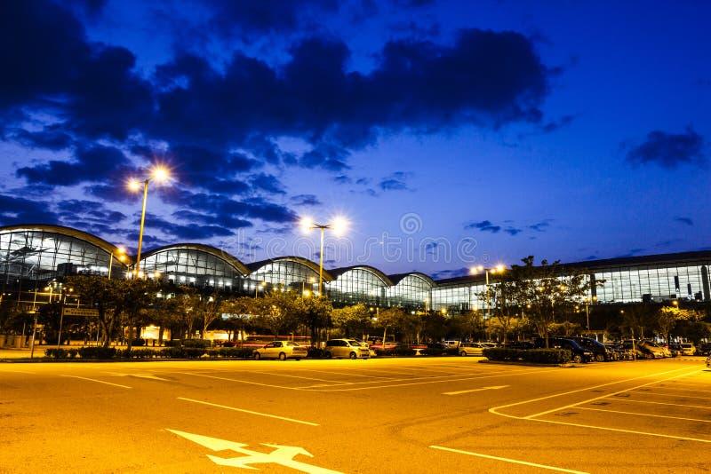 De Internationale Luchthaven van Hongkong stock foto's