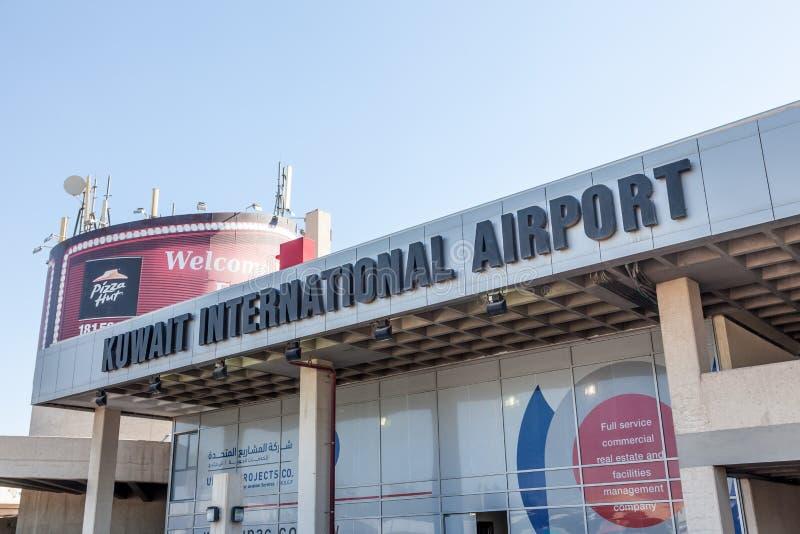 De Internationale Luchthaven van Koeweit royalty-vrije stock foto