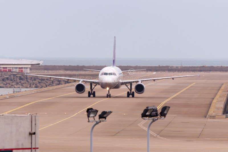 De Internationale Luchthaven van Macao stock foto's