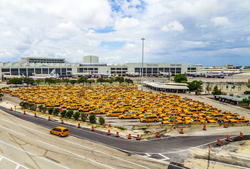De internationale Luchthaven van Miami royalty-vrije stock foto's