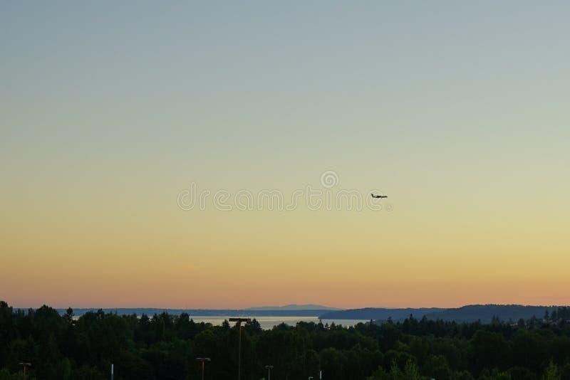 De Internationale Luchthaven van Seattle stock afbeeldingen
