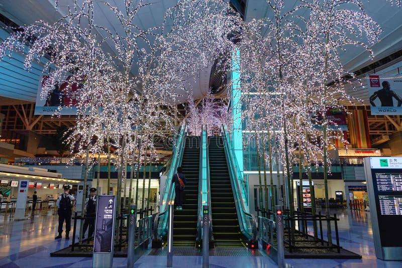 De Internationale Luchthaven van Tokyo stock foto