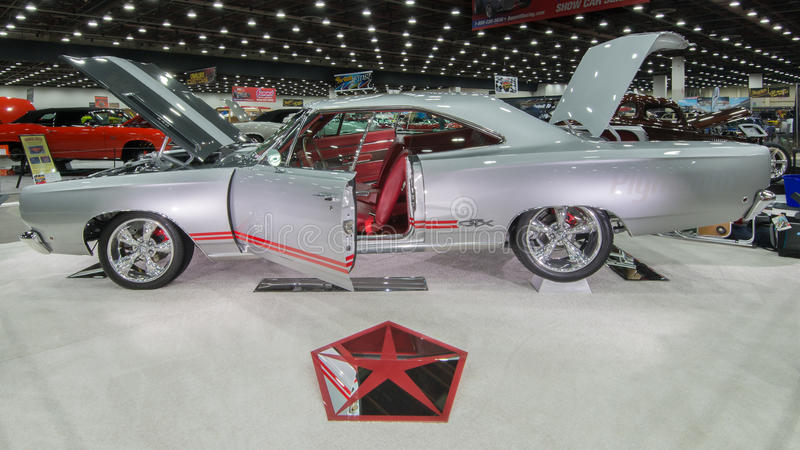 1968 de Interpretatie van Plymouth GTX royalty-vrije stock afbeeldingen