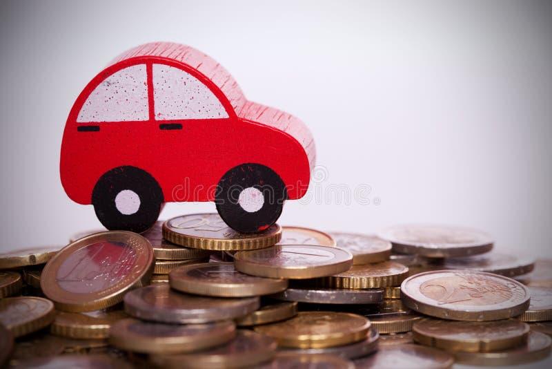 De investering van de auto stock fotografie