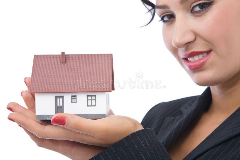 De investering van het huis royalty-vrije stock afbeeldingen