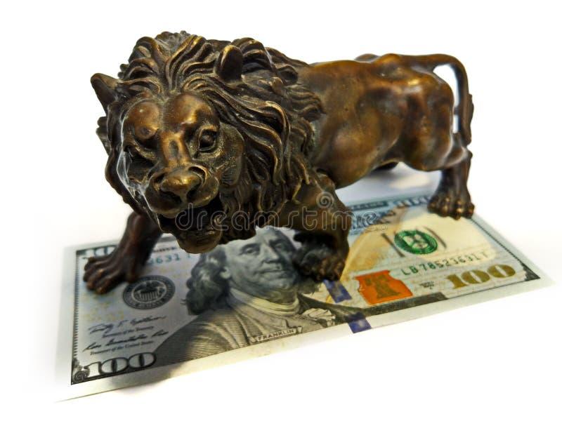 De Investeringsdollars van geldfinanciën stock foto's
