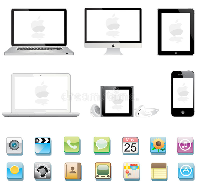 De inzameling van de appel vector illustratie