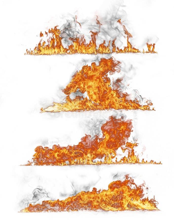 De inzameling van de brand stock illustratie