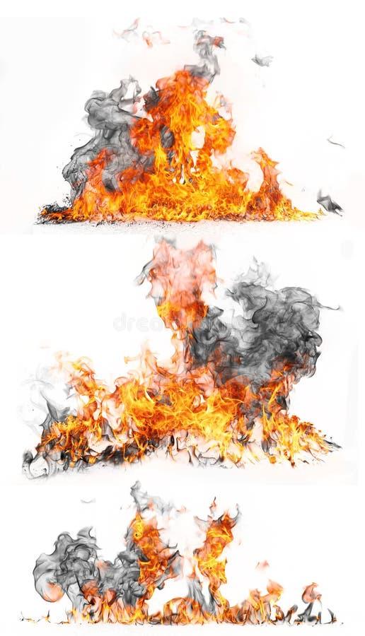 De inzameling van de brand vector illustratie