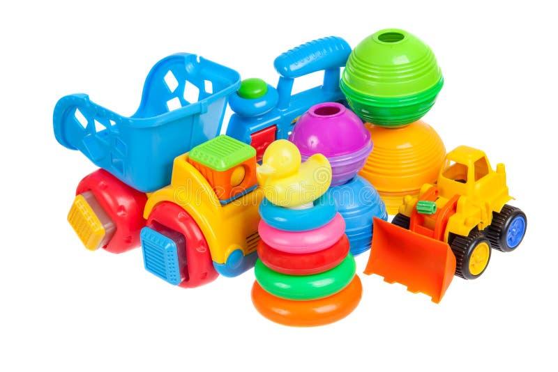 De inzameling van het babyspeelgoed royalty-vrije stock afbeelding