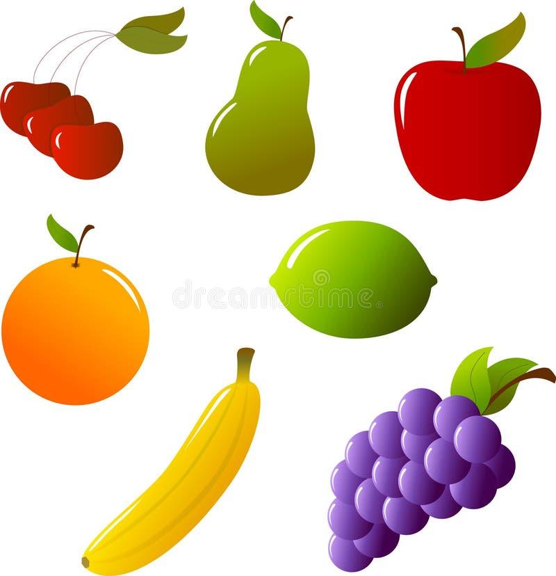 De Inzameling van het fruit royalty-vrije illustratie