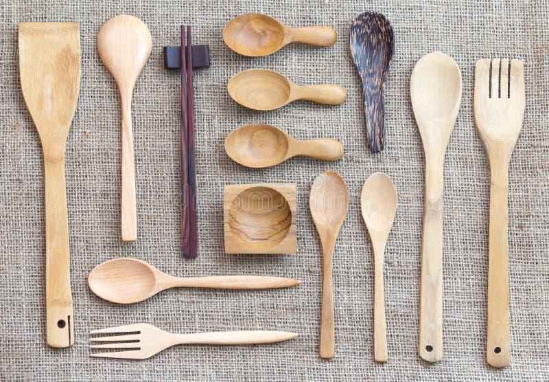 De inzameling van het keukenwerktuig stock foto