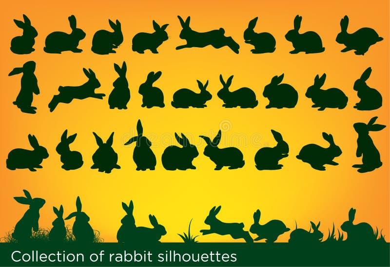 De inzameling van konijnen vector illustratie