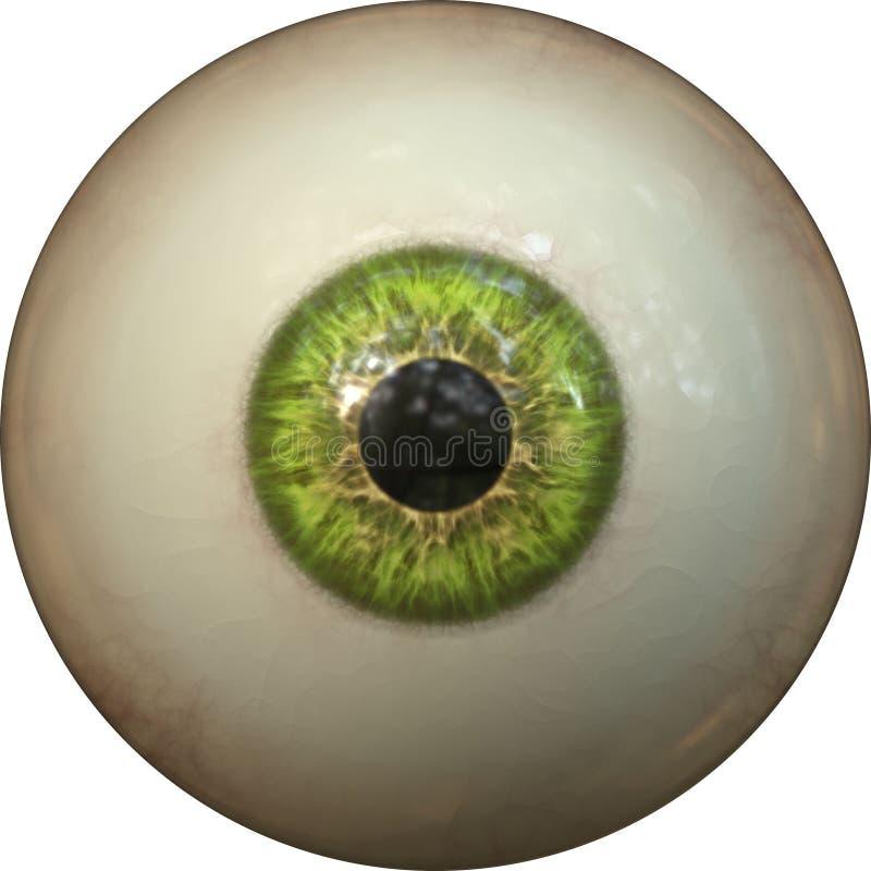 De iris van het oog royalty-vrije illustratie