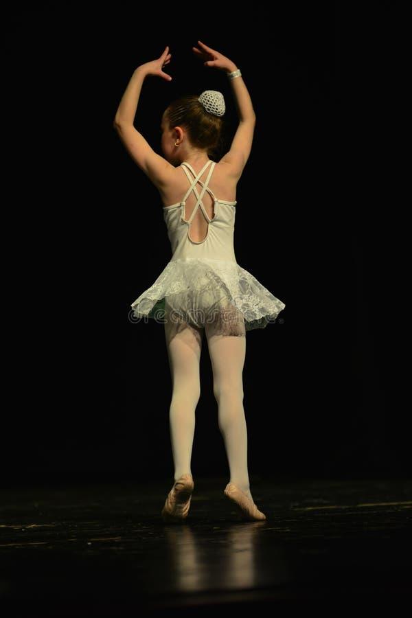 De Israëlische danser van de kindballerina stock foto's