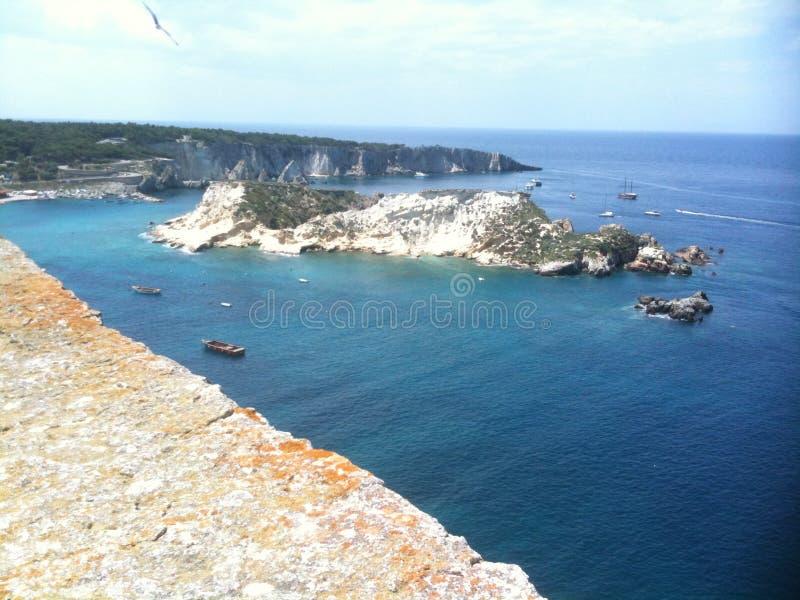 De Itália, arcipelag das ilhas de Tremiti imagem de stock royalty free