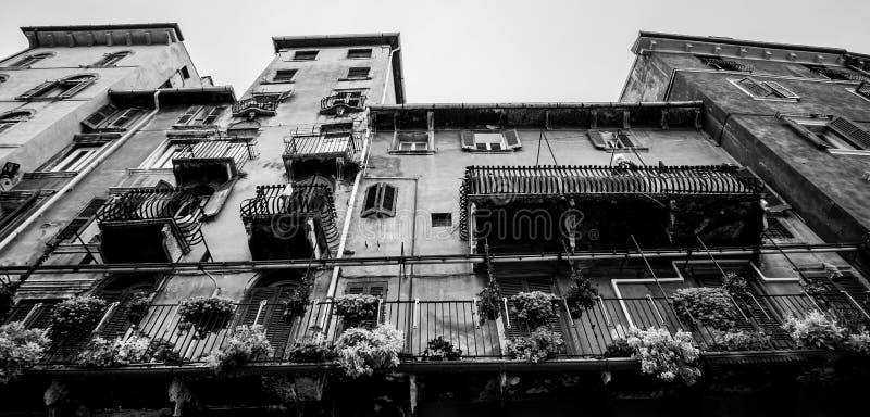 De Italiaanse bouw stock afbeelding