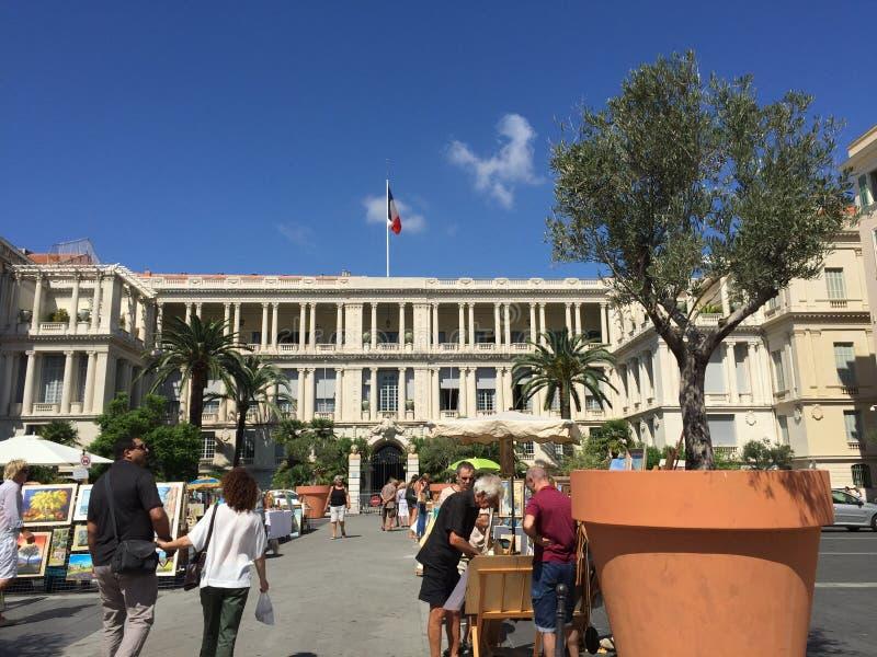 De Italiaanse overheidsbouw royalty-vrije stock fotografie