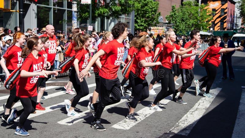 de 13de Jaarlijkse van de de Stadsdans van New York Parade en Festival 2019 royalty-vrije stock afbeeldingen