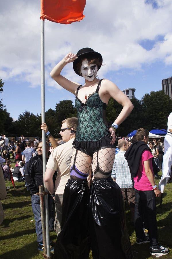 De Jaarlijkse Vrolijke Trots 2011 Van Bristol Redactionele Foto