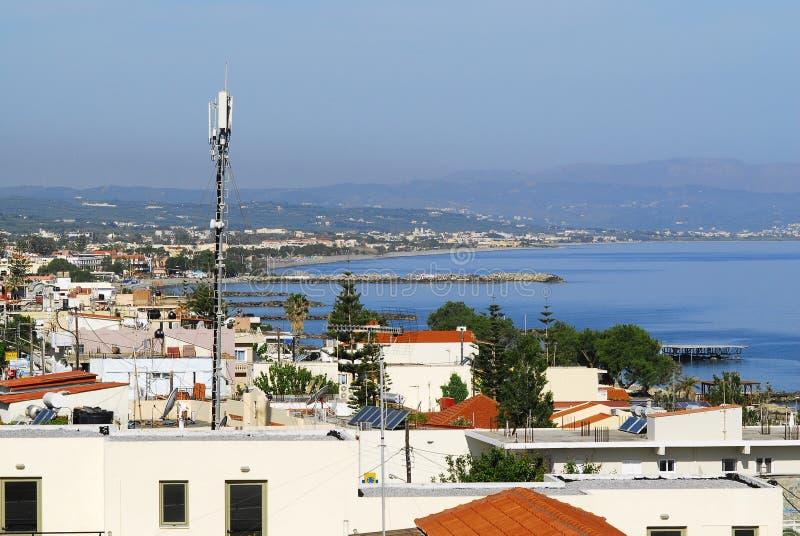 De Jachthaven van Agia stock foto's
