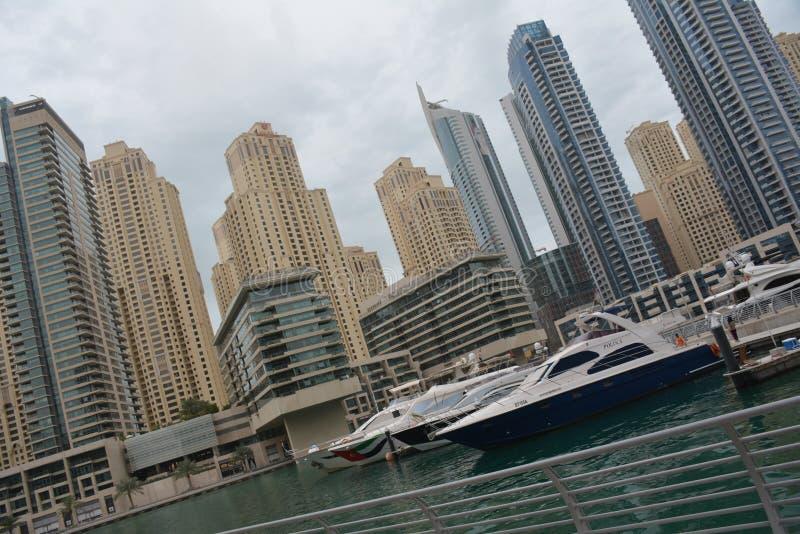 De Jachthaven van Doubai stock foto