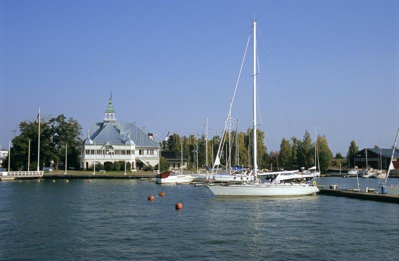 De Jachthaven van Helsinki royalty-vrije stock foto