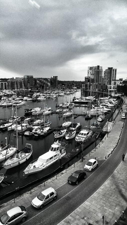 De Jachthaven van Ipswich, Suffolk, Engeland royalty-vrije stock afbeeldingen