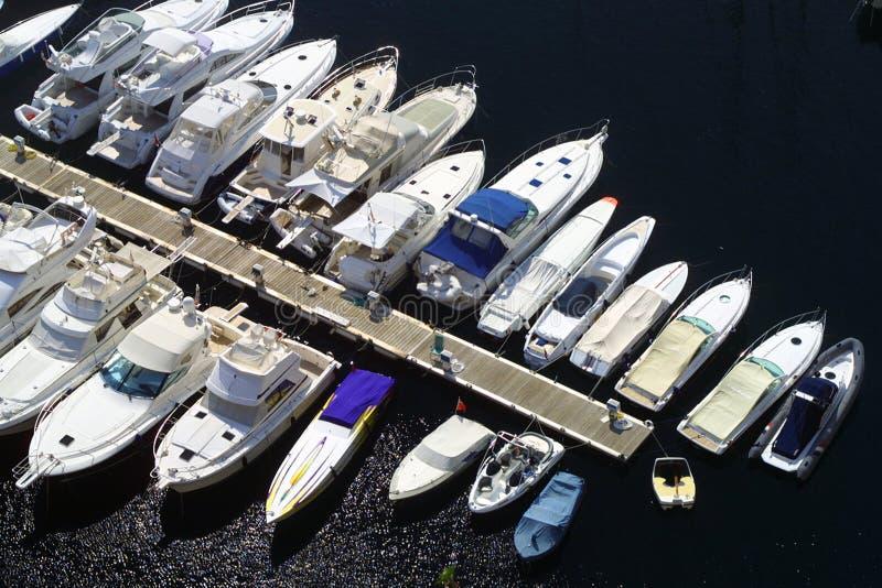 De Jachthaven van Monaco stock foto's