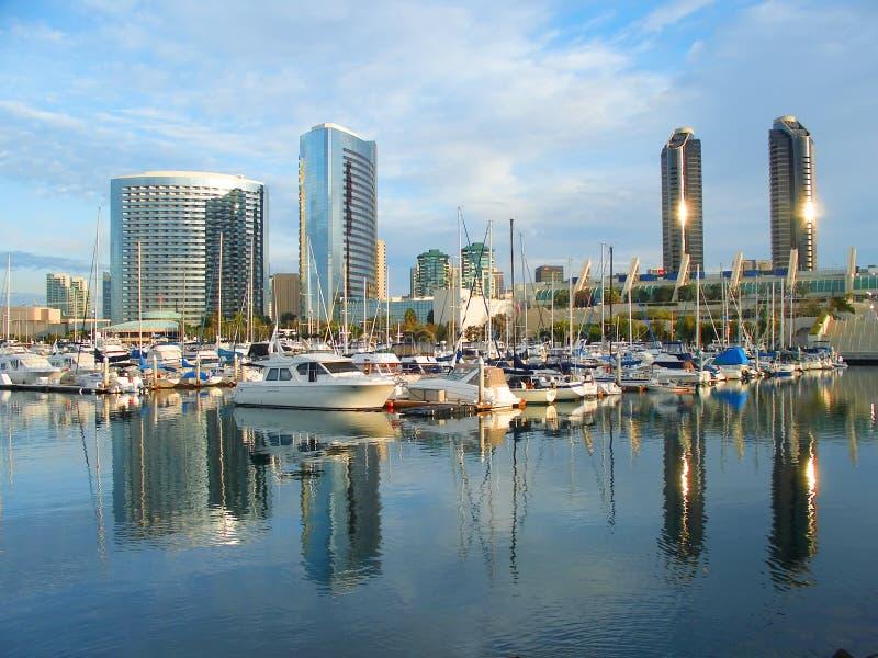 De jachthaven van San Diego royalty-vrije stock foto's