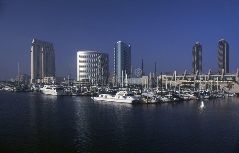 De Jachthaven van San Diego stock foto's